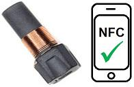 NeoTAG® Plug Inlay - NFC Metalltransponder
